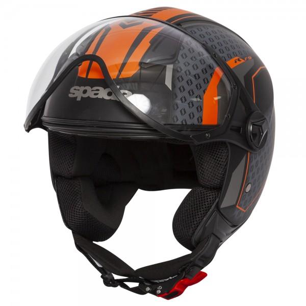 Spada Hellion Helmet - Arrow Blk/Orange