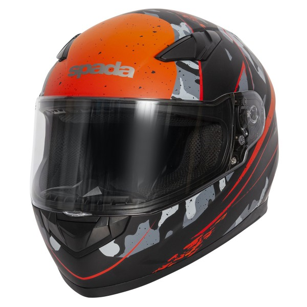 Spada Helmet Raiden Camo Orange