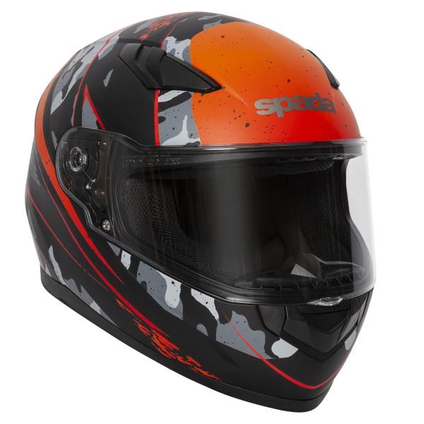 Spada Raiden Helmet - Camo Orange