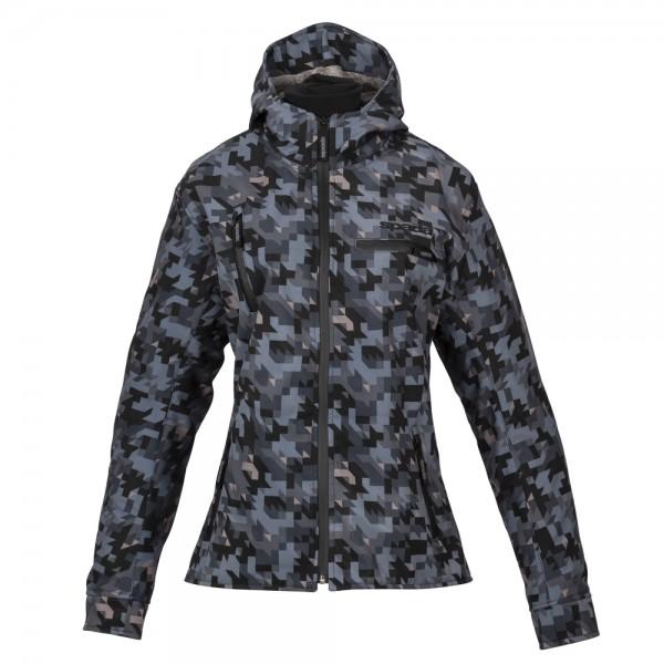 Spada Textile Jacket Grid Ladies CE WP Camo Grey