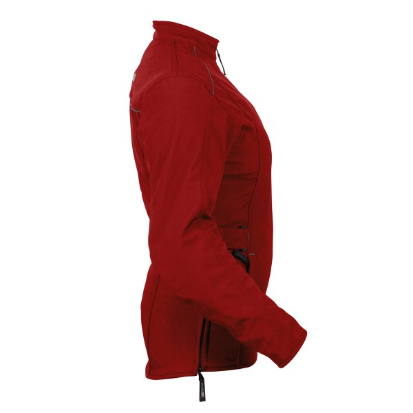 Spada Textile Jacket Hairpin Ladies CE WP Boredeaux Red