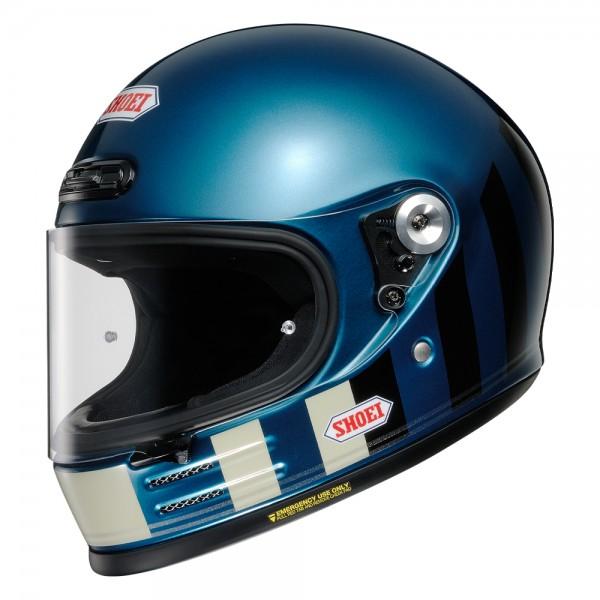 Shoei Glamster Resurrection TC2 Blue/Black