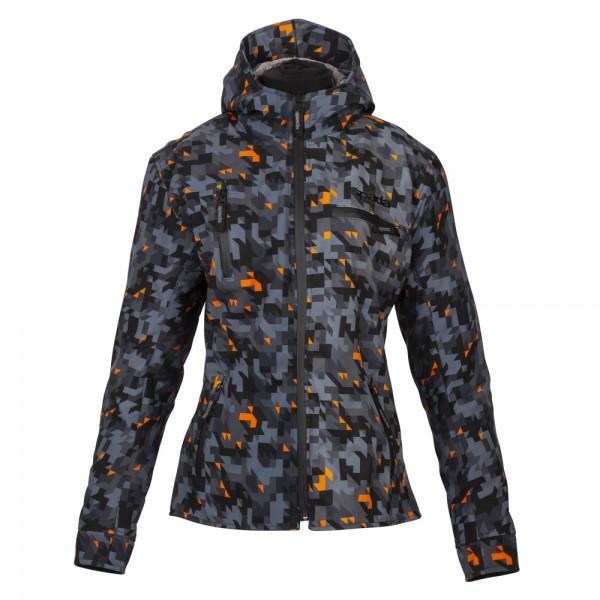 Spada Grid Ladies Textile Jacket - Camo Orange