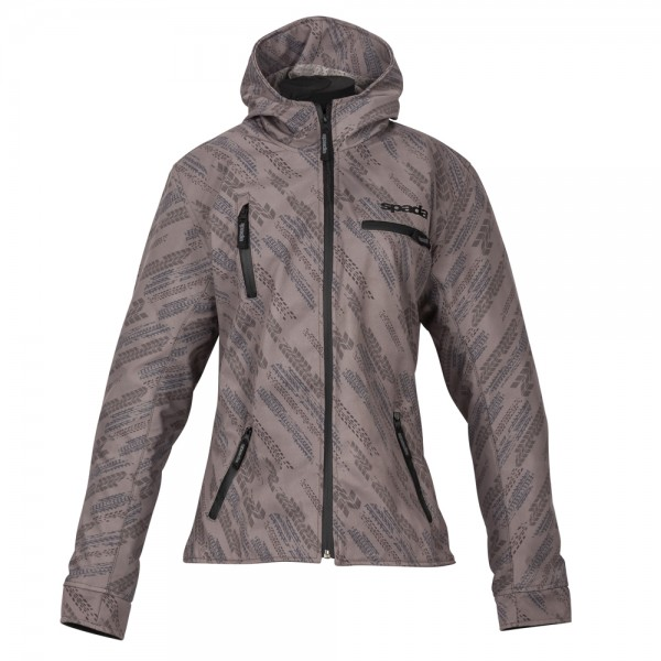 Spada Grid Ladies Textile Jacket - Track Khaki