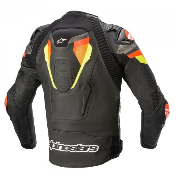 Alpinestars Atem v4 Leather Jkt Blk/Red/Yel