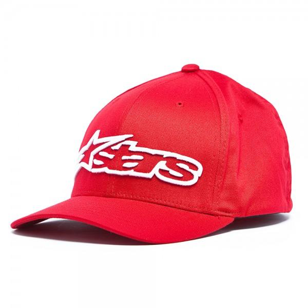 Alpinestars Blaze Flexfit Hat - Red & White