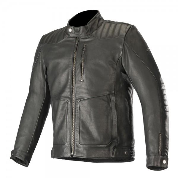 Alpinestars Crazy Eight Leather Jacket - Black