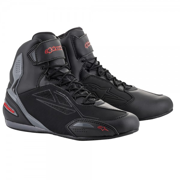 Alpinestars Faster 3 Drystar Shoes Black Grey & Red