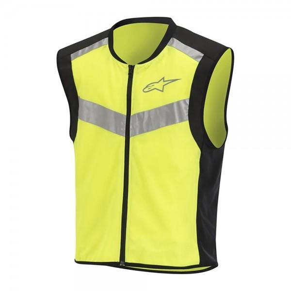 Alpinestars Flare Neon Vest - Black/Yellow Fluo