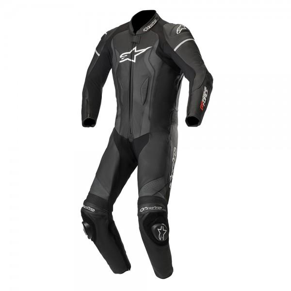 Alpinestars GP Force 1 Piece Leather Suit Black