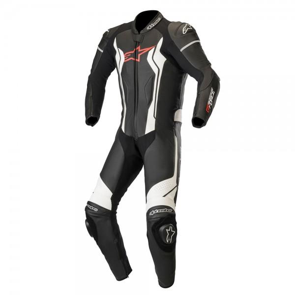 Alpinestars GP Force 1 Piece Leather Suit Black & White