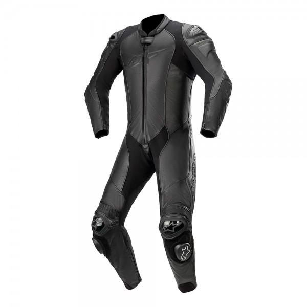 Alpinestars GP Plus v3 Graphite Leather 1 Piece Black
