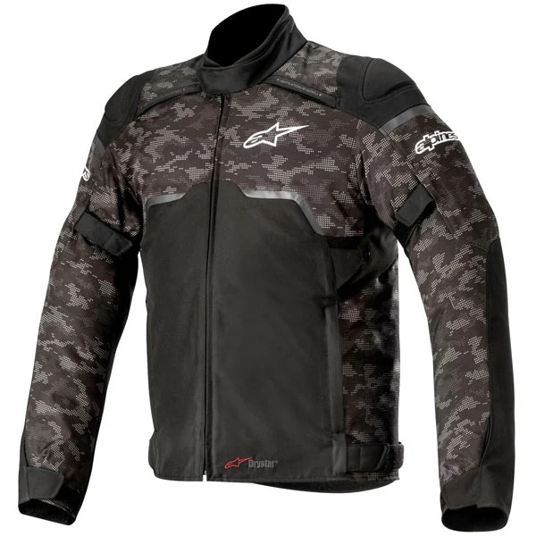 Alpinestars Hyper Drystar Jacket - Black/Camo Red