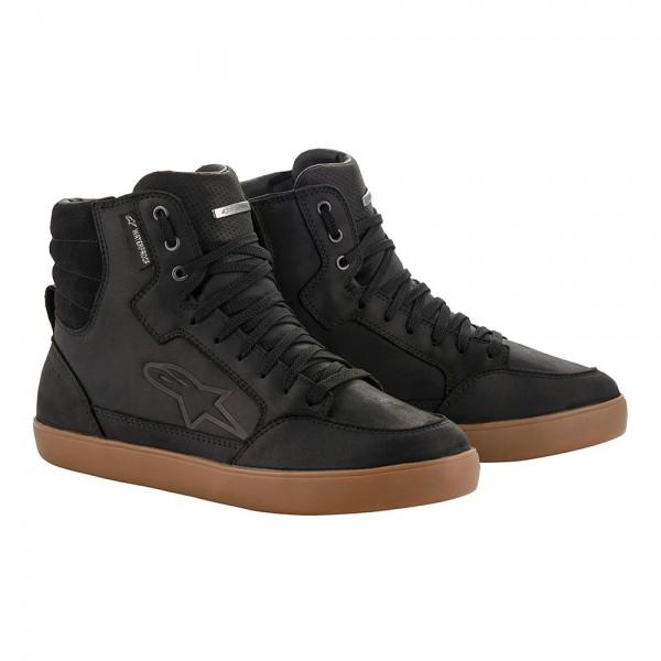 Alpinestars J-6 Waterproof Leather Shoe Black Gum