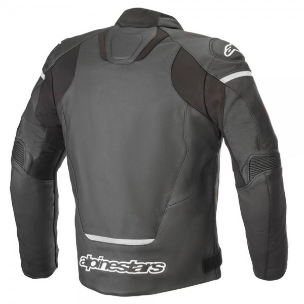 Alpinestars Jaws v3 Leather Jacket - Black