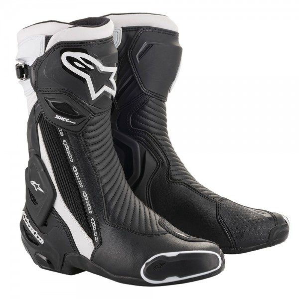 Alpinestars SMX Plus v2 Boots - Black & White