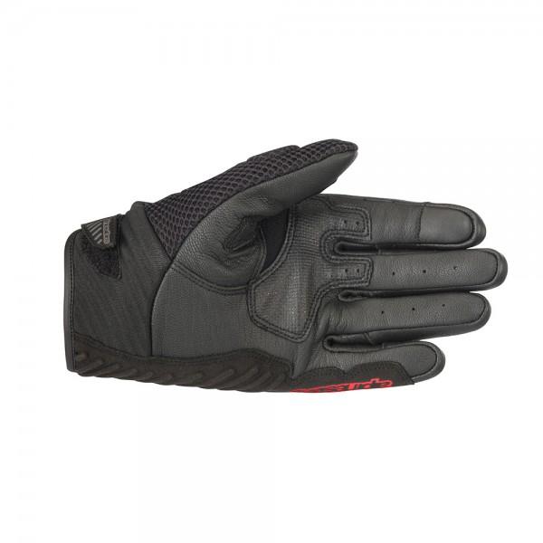 Alpinestars SMX-1 Air v2 Gloves Black Red & Fluo