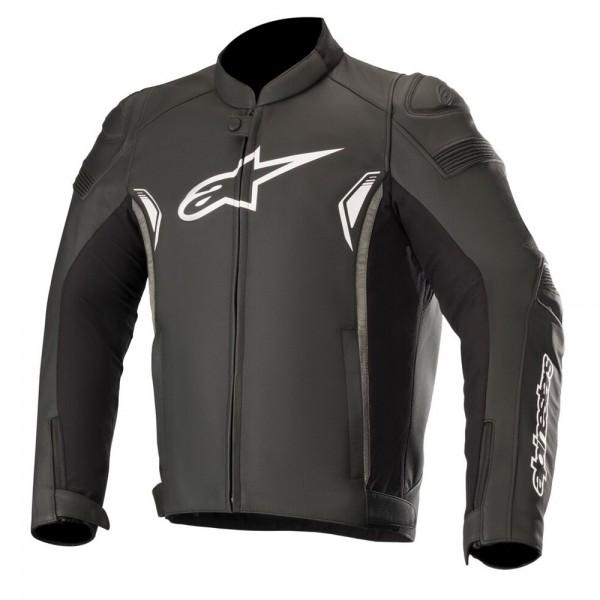 Alpinestars SP-1 v2 Leather Jacket - Black/Dark Grey