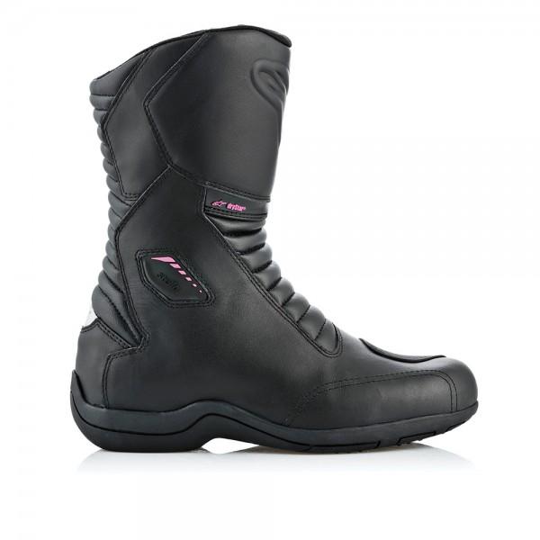 Alpinestars Stella Andes v2 Drystar Boots - Black/Fuchsia