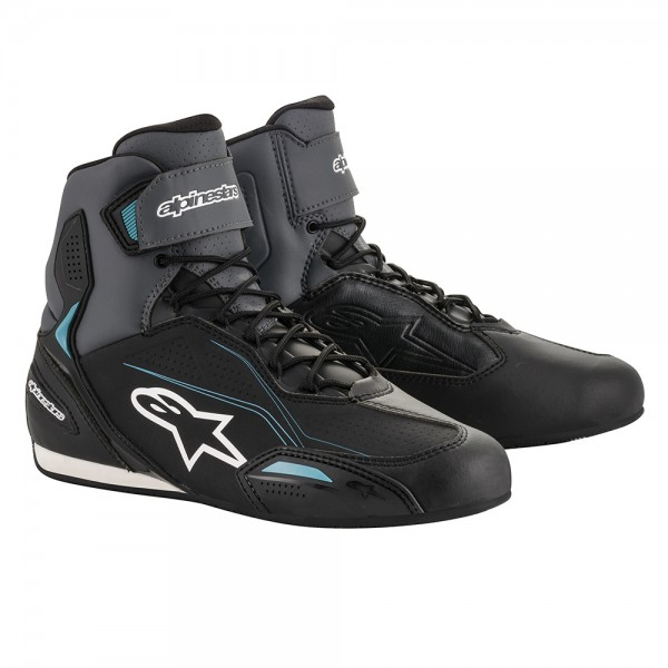 Alpinestars Stella Faster 3 Shoes Black Grey & Ocean