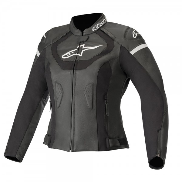 Alpinestars Stella Jaws v3 Leather Jacket - Black