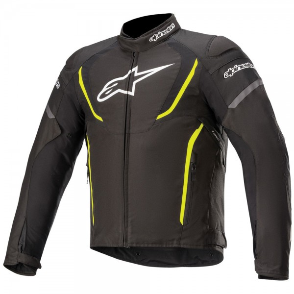 Alpinestars Stella T-Jaws v3 Waterproof Jacket Black White & Fuchsia