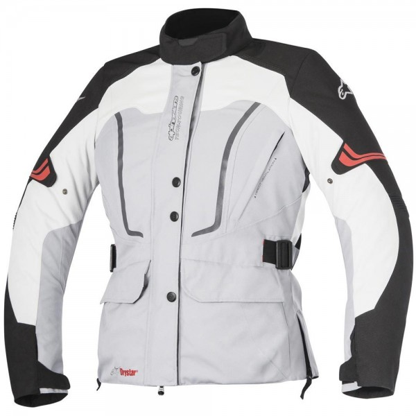 Alpinestars Stella Vence Drystar Women's Jacket Grey Black