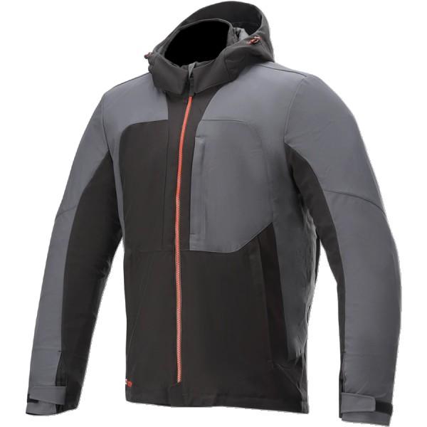 Alpinestars Stratos V2 Techshell Drystar Jacket - Black/Asphalt/Red