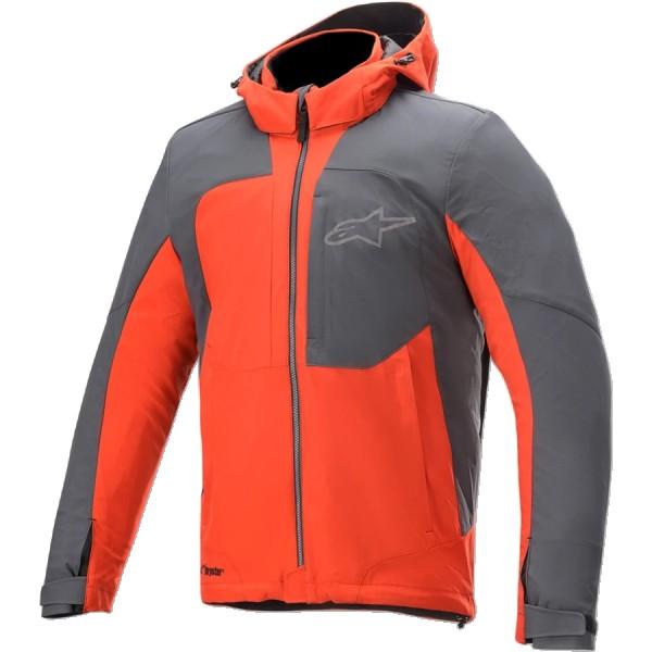Alpinestars Stratos V2 Techshell Drystar Jacket - Red/Asphalt