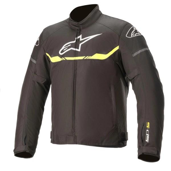 Alpinestars T-SPS Waterproof Jacket - Black/Yel Fluo