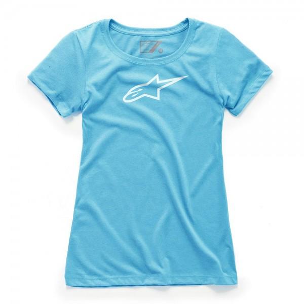 Alpinestars Women's Ageless Tee - Light Blue