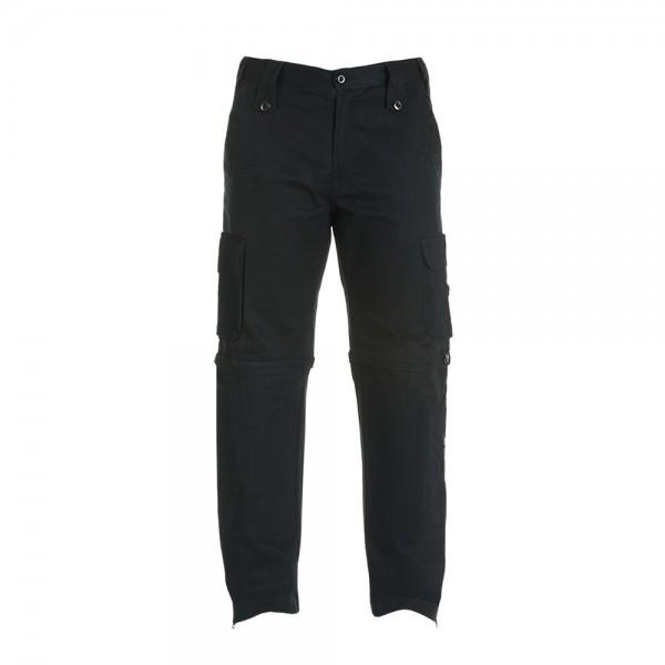 Bull-it Men's Black Cargo Jeans Long
