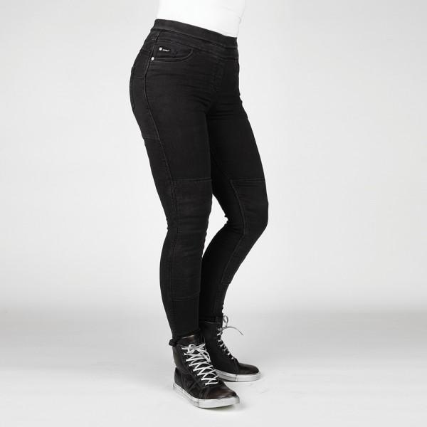 Bull-it Women's Fury Evo SP45 (A) Black Skinny Jeggings Short