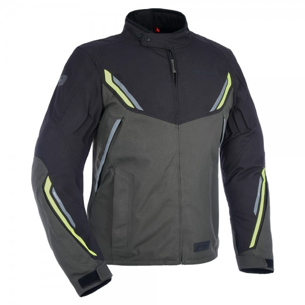 Oxford Hinterland Advanced MS Textile Jacket - Black/Grey/Fluo