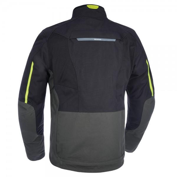 Oxford Hinterland Advanced MS Textile Jacket - Black/Grey/Fluo