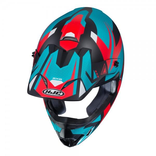 HJC CS-MX Madax Red White & Blue