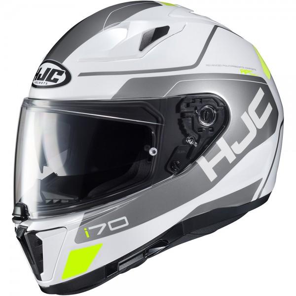 HJC I70 Karon White
