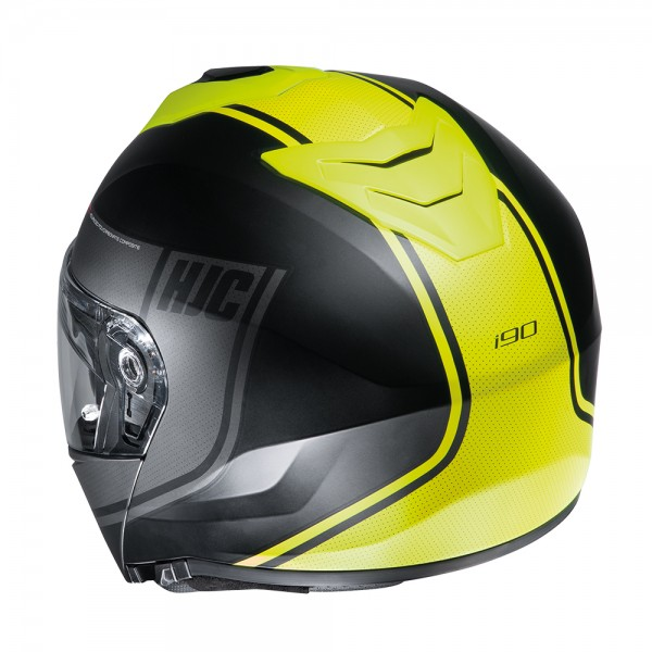 HJC I90 Davan MC4HSF Yellow