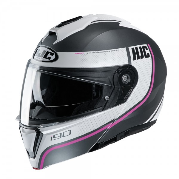 HJC I90 Davan MC8SF Pink