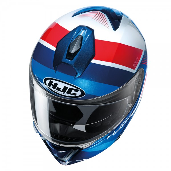 HJC I90 Hollen MC21 Red White Blue