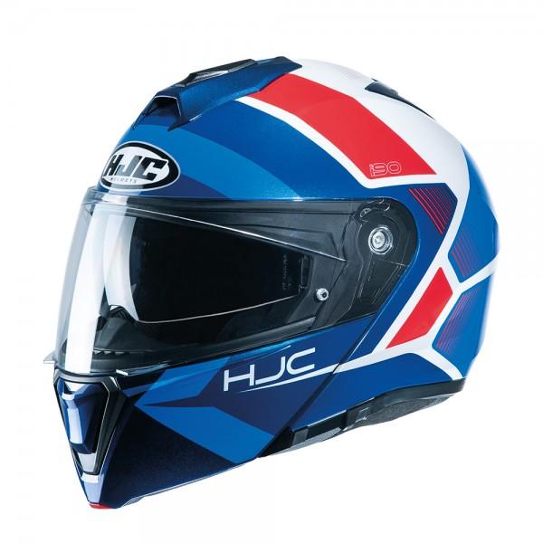 HJC I90 Hollen MC21 Red White Blue
