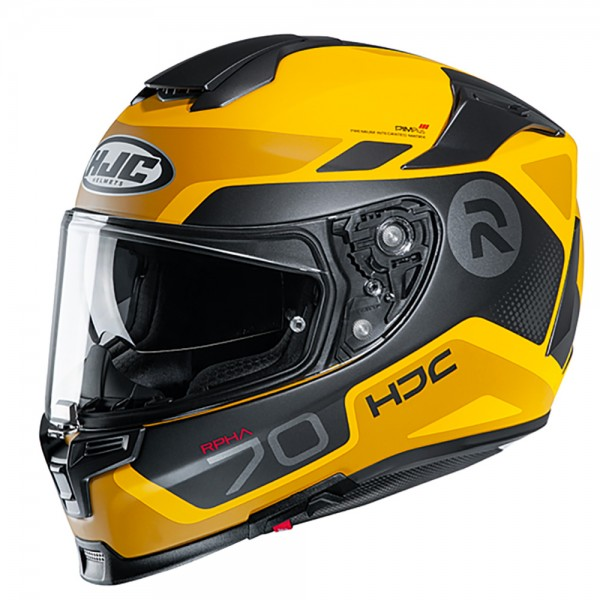 HJC RPHA 70 Shuky MC3SF Yellow