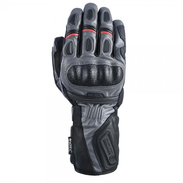 Oxford Mondial Long MS Gloves Grey/Black