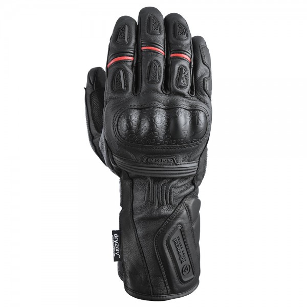 Oxford Mondial Long MS Gloves Tech Black