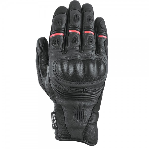 Oxford Mondial Short MS Gloves Tech Black
