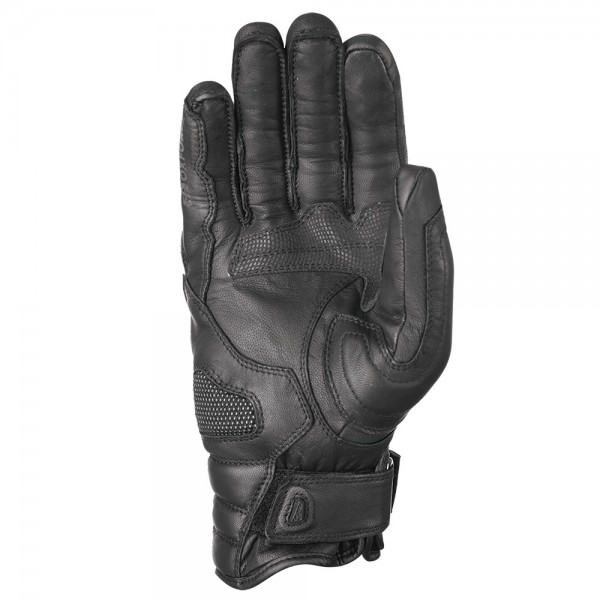 Oxford Mondial Short MS Gloves Tech Black