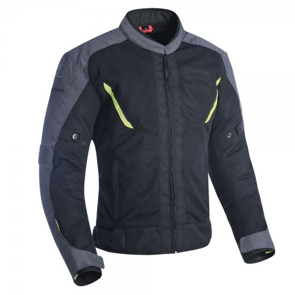 Oxford Delta 1.0 Air Jacket Black Grey & Fluo