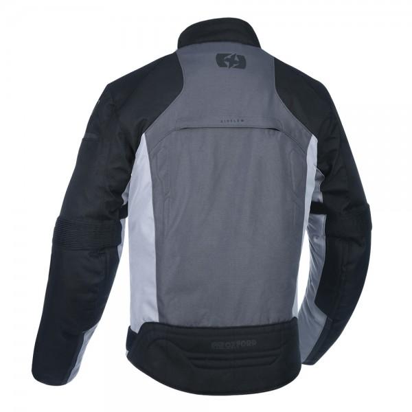 Oxford Delta 1.0 Jacket Black Grey & Red