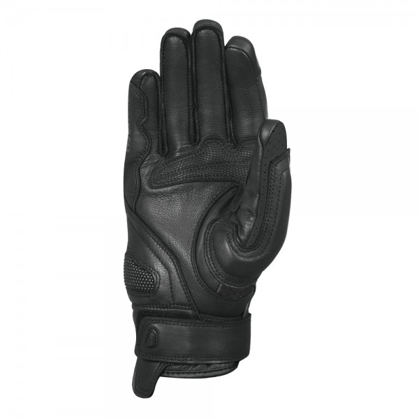 Oxford Hawker Leather Gloves Black