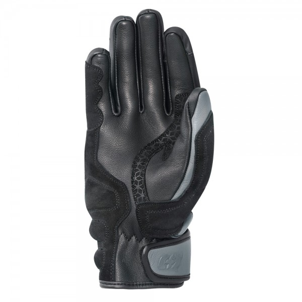Oxford Ladies Ontario Leather Gloves Charcoal/Black